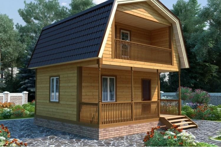 Дом из бруса №3